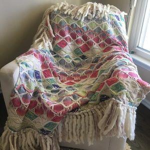 Anthropologie Weave and Wander throw blanket